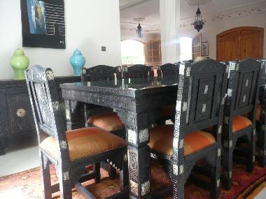 Photos villa marrakech maroc villa soraya for Salle a manger mobilia maroc